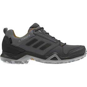 adidas TERREX AX3 Gore-Tex Hiking Shoes Waterproof Men grey five/core black/mesa
